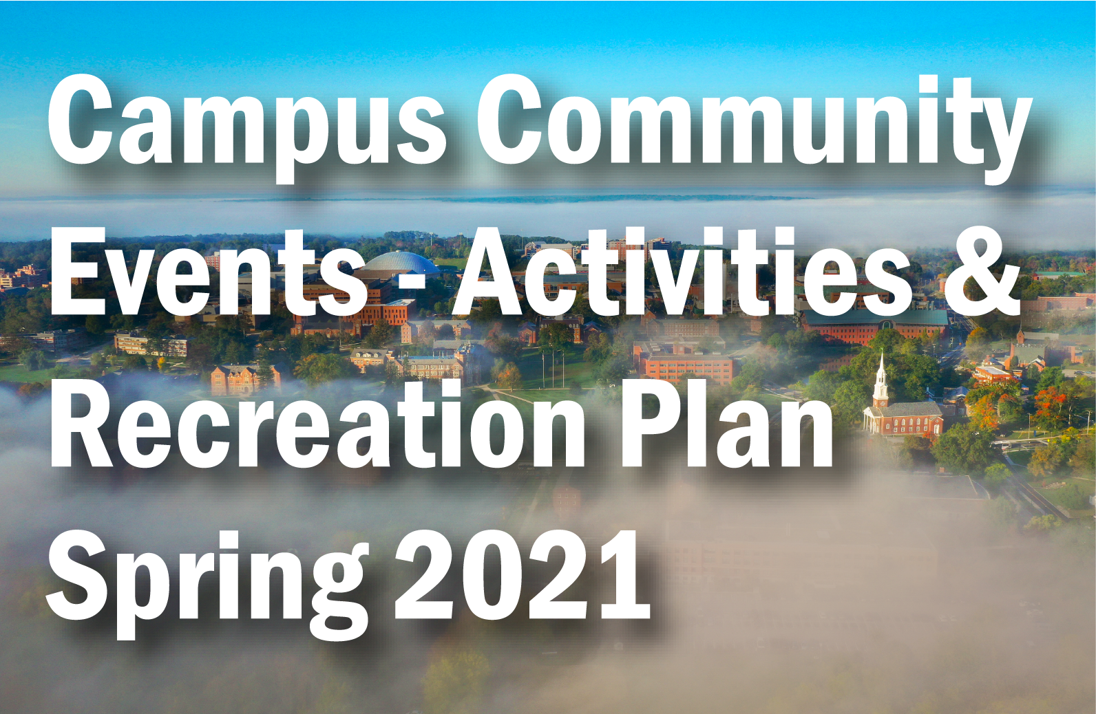campus events button spring 2021